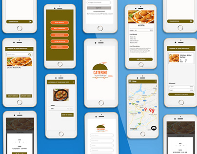 Professional catering APP