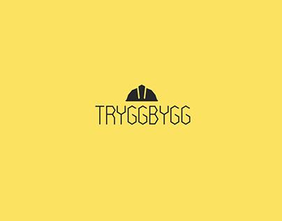 TryggBygg Logo design