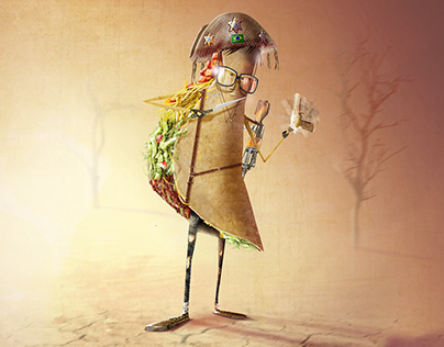 Character design- Taco, the best entry