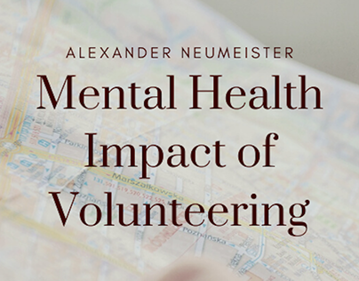Mental Health Impact of Volunteering