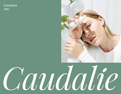 Caudalie Paris - website redesign