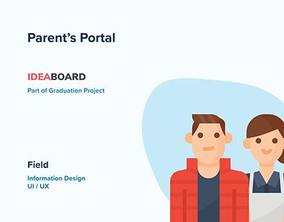 Parent's Portal - Part of IdeaBoard Ecosystem - GP