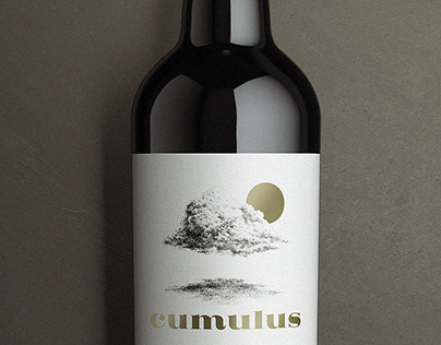 Cumulus—Wine label design and packaging