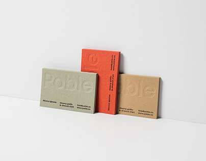 Poble Corporate Identity