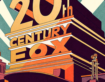 100 years for Twenty Century Fox - Cover
