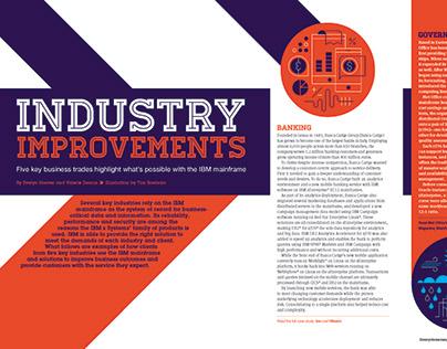 Art Direction + Illustration / IBM Systems Magazine