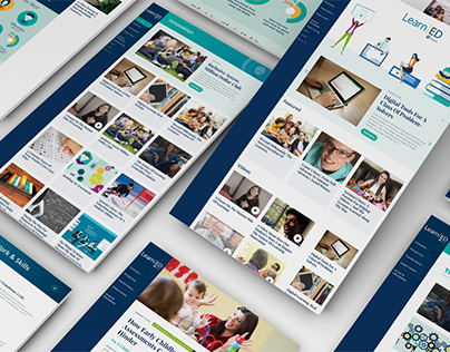 Pearson LearnEd Web Redesign