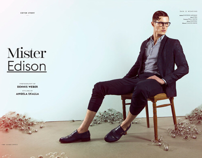 Mister Edison for Caleo Magazine