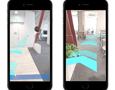 Indoor Navigation System Project - Mobile Application