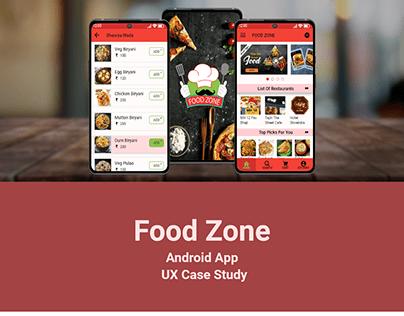Food Zone App UX Case Study
