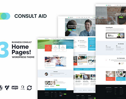 Consult Aid Business Consulting & Finance WP Theme