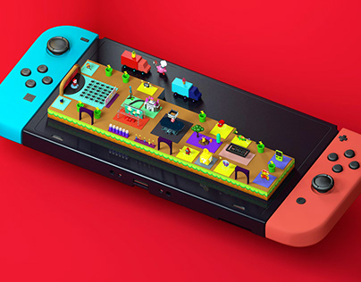 Nintendo Isometric Event