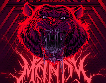 Mandy Tiger Poster (AMP)