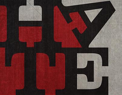 Hate (Digital Illustration)