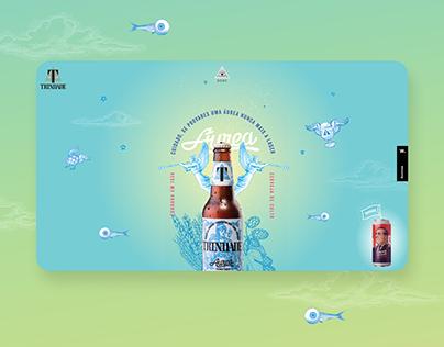Trindade - Craft Beer Website (Sneak Peek)