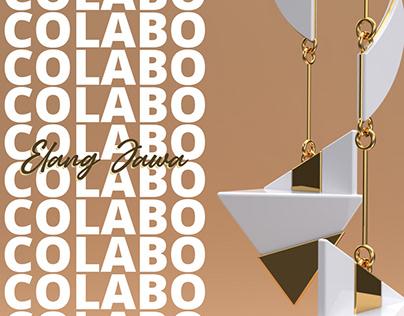 Colabo Elang Jawa (earrings)