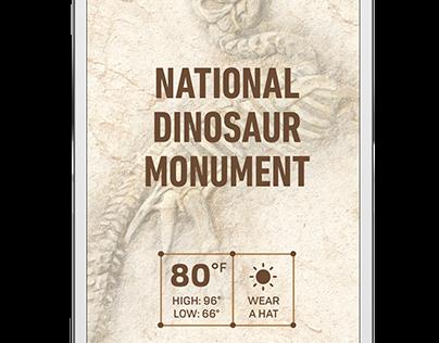 App   Dinosaur National Monument