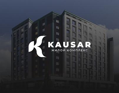 Kausar Residence - дизайн посадочный страницы