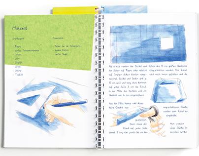 Handcraft book for educators in kindergartens