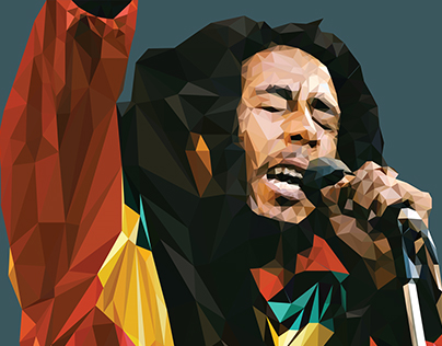 Bob Marley Illustration
