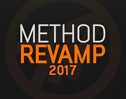 Method Social & Twitch Design Revamp 2017