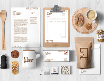 Re-Branding For Bookmark Cafe