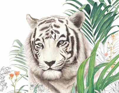 Wonder garden-Tiger
