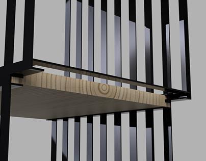uni - mobília modular / modular furniture