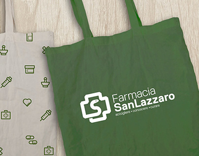Farmacia San Lazzaro // Logo and Brand Identity