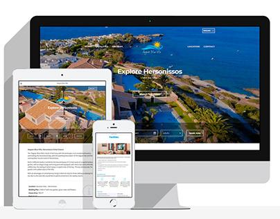 AegeanBlueVilla.gr | Website - WebHotelier Integration