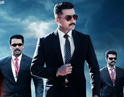 poster for movie KAAPPAAN