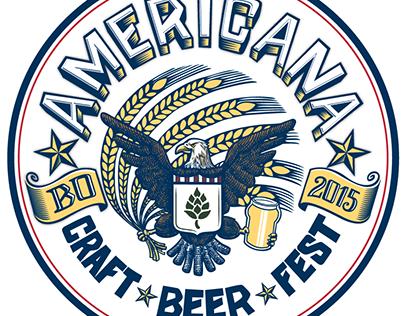 Americana Craft Beer Fest Logo