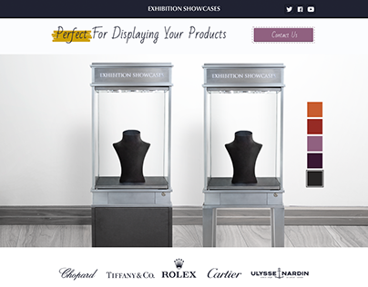 Web Design for Showcases Rent