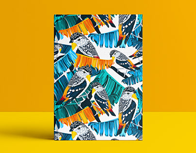 Birds vol.2 | Book Cover Illustration