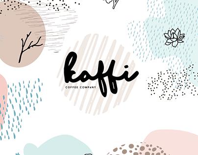 """Kaffi"" Coffee Branding"