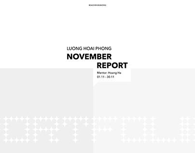 NOVEMBER REPORT @SAOKIMBRANDING