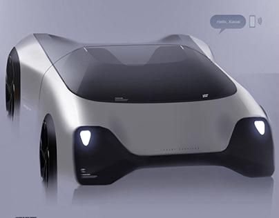 Vision of Xiaomi Mijia Concept car