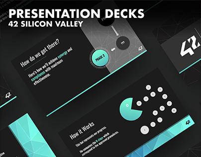42 SV | Presentations