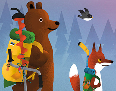 Bear and Fox picture book