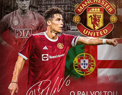 Flyer em homenagem ao Cristiano Ronaldo