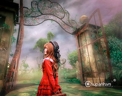 Ghép ảnh Wonderland