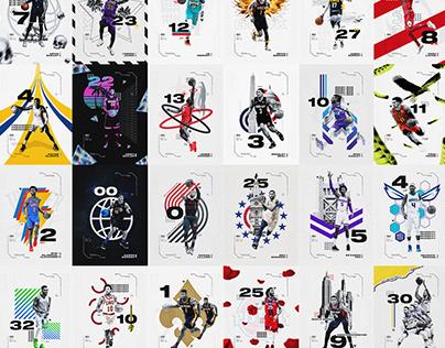 30 Days. 30 Teams. 30 Posters.