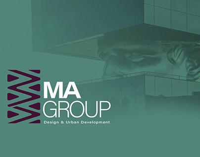 ma group rebranding identity