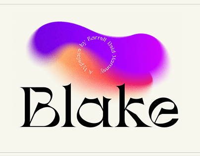 Blake - Display Typeface