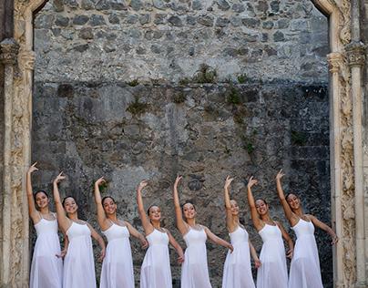 Fotografia de dança. Bailarinas EDDC