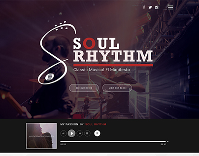 Soul Rhythm Band Template