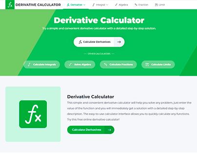 Derivative Calculator