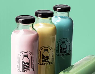 Klenyer Drink Logo Design