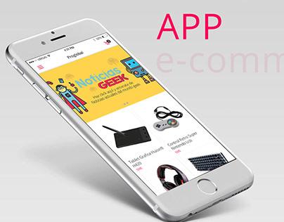 APP E-commerce