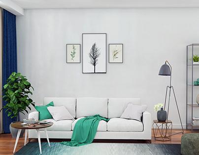 A Simple Living area